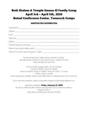 thumbnail of Temple Emanu-El and Beth Shalom Family Camp 2020 Registration Form